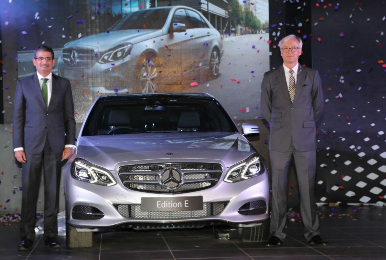 L-R_Mr.Piyush Arora, Executive Director, Operations, Mercedes-Benz India and Mr