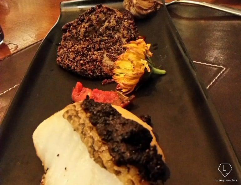 Quinoa Nera with Wild Mushrooms