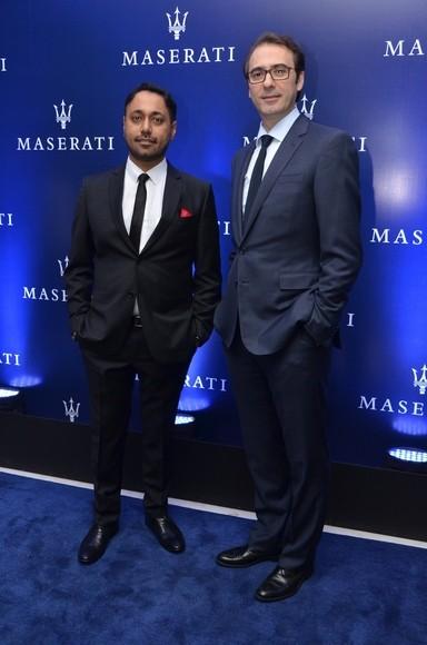 Sukhbir Bagga with Bojan Jankulovski Maserati Head of India Operations
