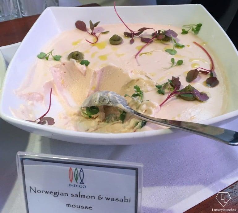 Norwegian salmon mousse