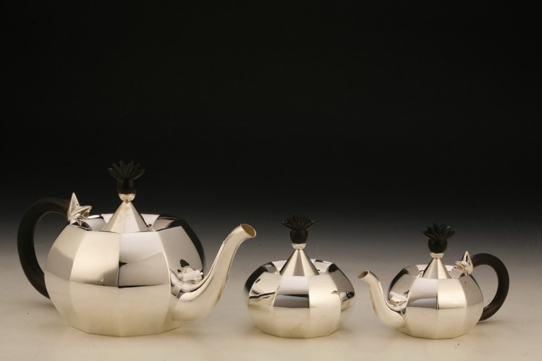 Frazer and Haws Tea Set Day and Night