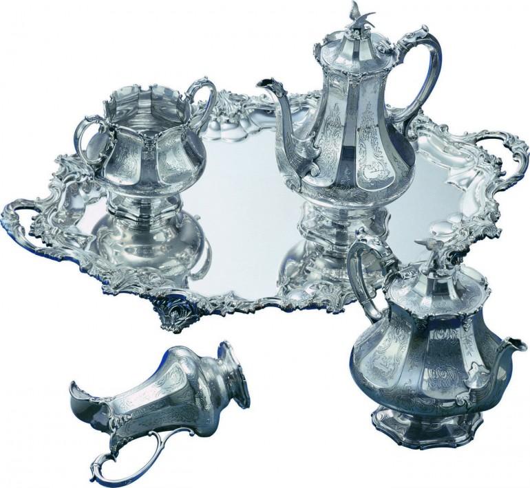 Frazer and Haws Tea set Victorian