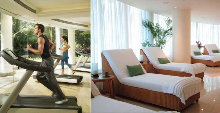 Taj Club & Jiva Spa - Relaxation Area-1