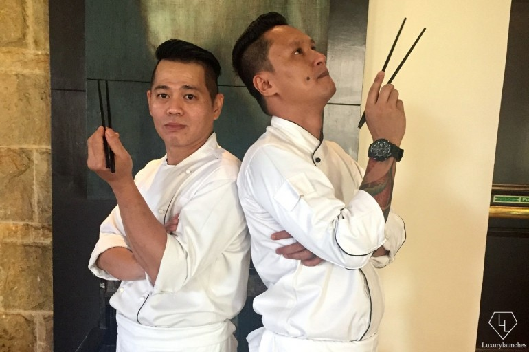 Chef Don Don and Chef Stanley - Executive Chefs at Dashanzi