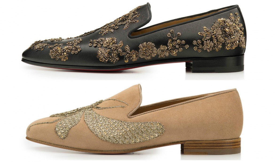 christian louboutin and sabyasachi dabble in shoes for the