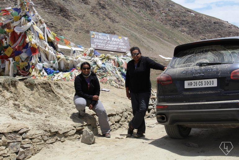 At Penzi la top enroute Zanskar