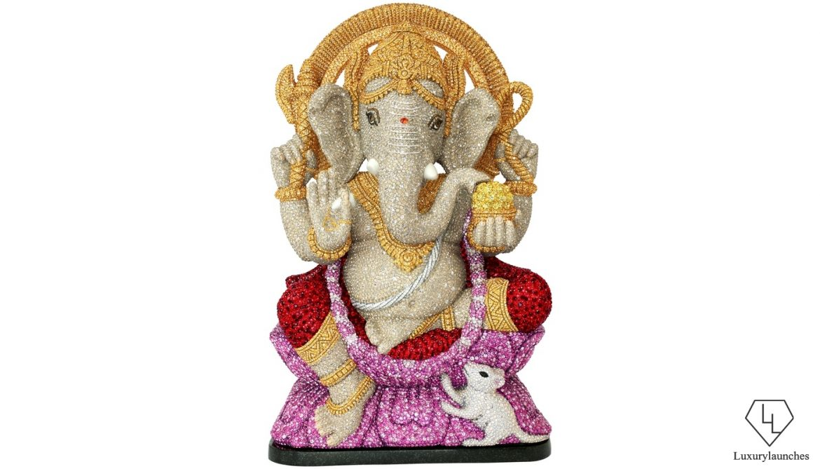 Swarovski Presents Ganpati Figurines For The Upcoming Festival