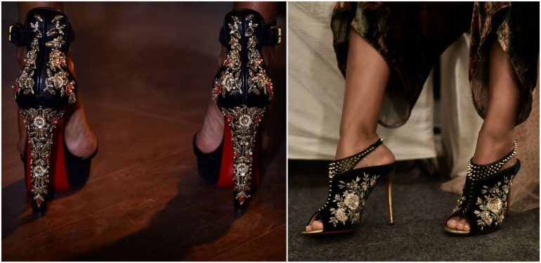 christian louboutin and sabyasachi collection