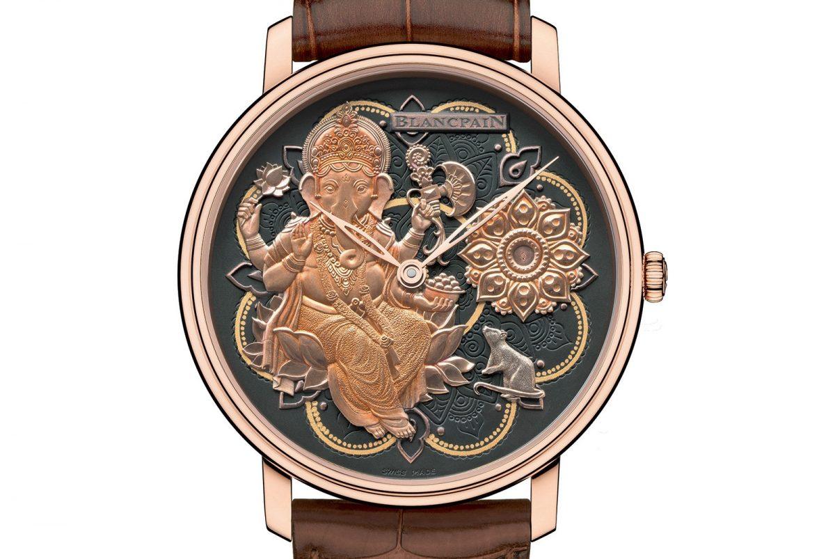 Blancpain Metiers d'Art Villeret Ganesh Watch