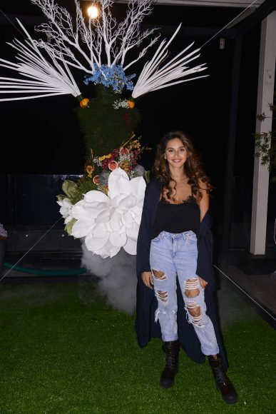 Shibani Dandekar at the Belvedere Relearn Natural Party