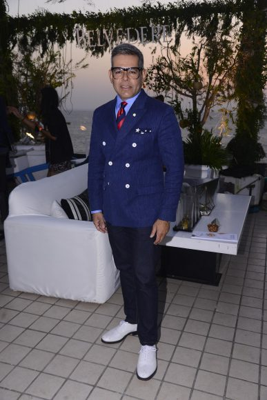 Vikram Raizada at the Belvedere Relearn Natural Party