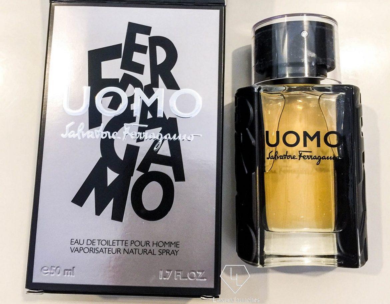 Ferragamo's Uomo fragrance embodies masculinity in its