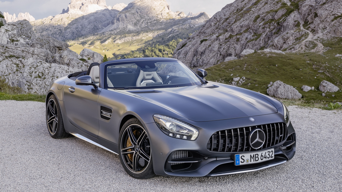 Mercedes AMG GT Roadster India - Images, Price and Specification