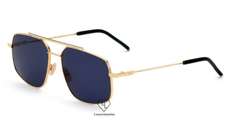 66bfd5d331b These sunglasses are inspired by lightness and fluidity. Mirroring the  elegant and masculine codes of the Fendi Man