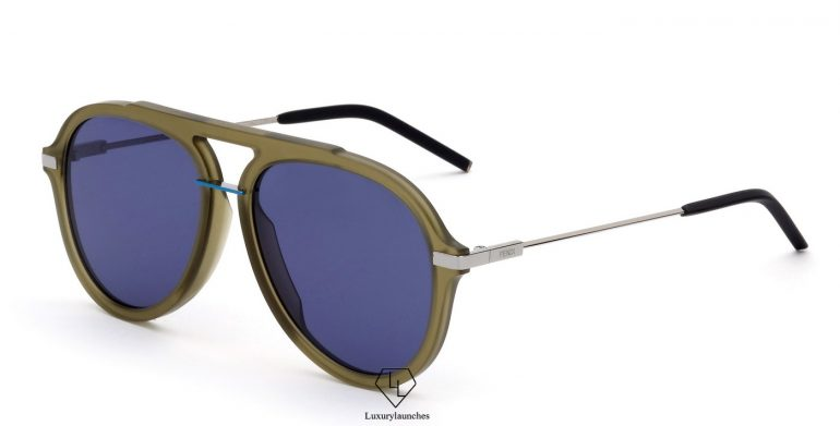 7470e7a9955 The Fendi Fantastic Sunglasses These feature a 80 s feeling with a sporty  touch in an aviator shape enhanced by pop colour touches.