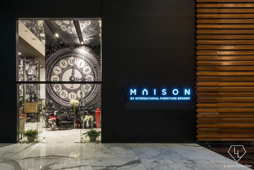 mumbai luxury store stores maison debuts a india in furniture flagship with
