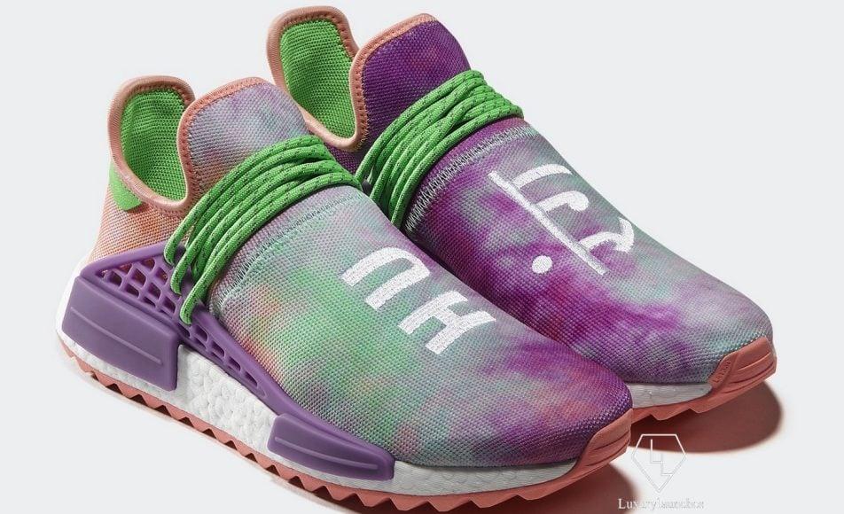 adidas Originals Pharrell Williams HU Holi Powder Dye - INR 19,999