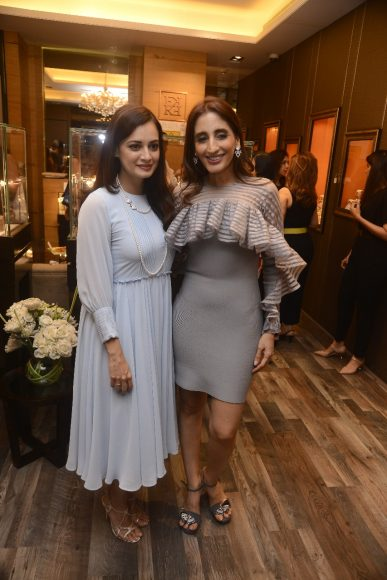 Dia Mirza and Farah Khan