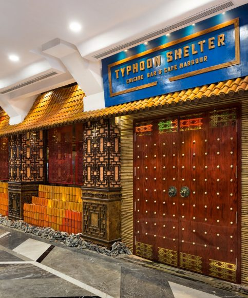 Typhoon Shelter by Gourmet Investments Pvt Ltd. Photography by Kunal Bhatia. Interior design by The Busride.