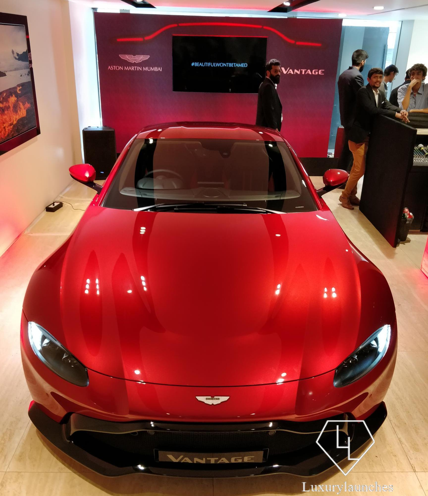 Aston Martin Vantage Launched In India With A Starting Price Of Rs