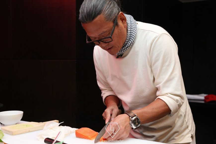 It was a privilege to witness Chef Morimoto's knife skills in the flesh!