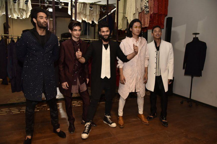 Kunal Rawal with Models