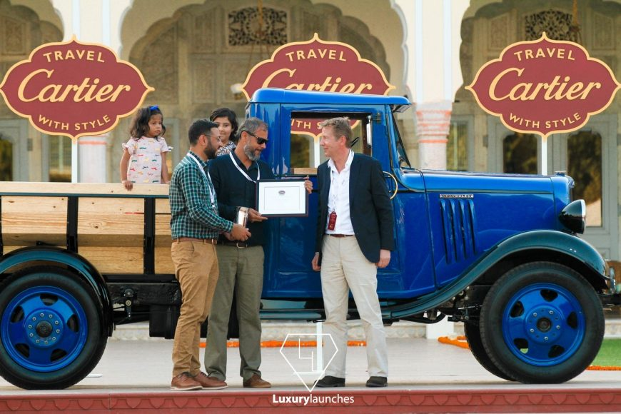 1934 - Chevrolet Half Ton Series PA owned by Mr. Kaizad Engineer