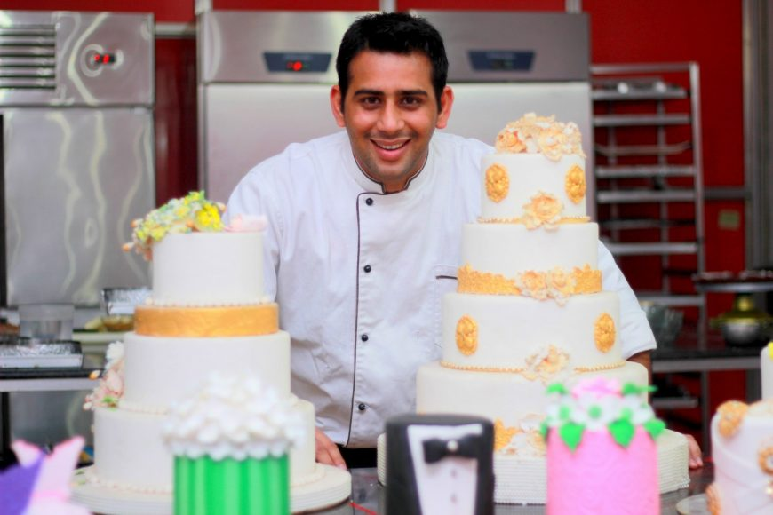 Chef Amit Sharma and CoFounder of Love & Cheesecake and Poetry by Love & Cheesecake