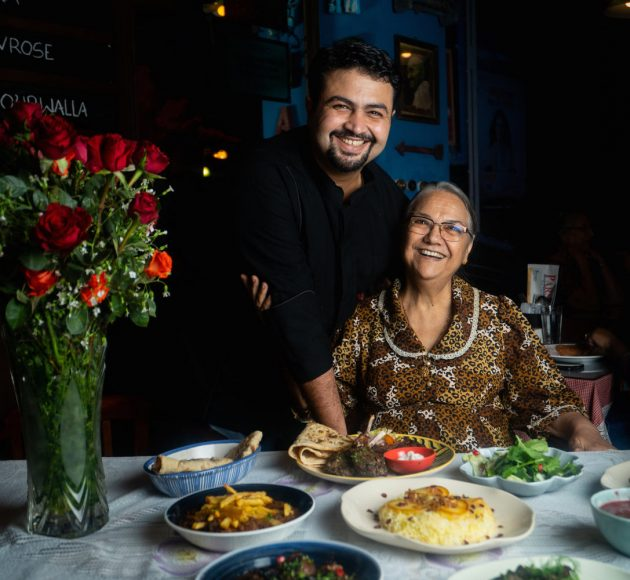 Chef Danesh and His Grandmother 2