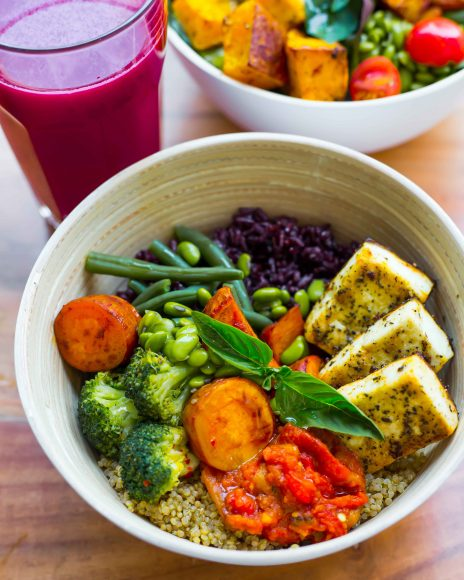 Warm Grain Bowl with Cottage Cheese 1 copy