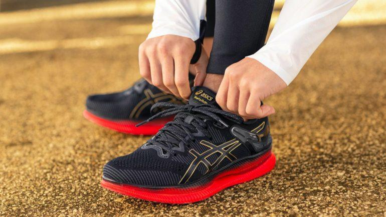 asics men's metaride running shoes india
