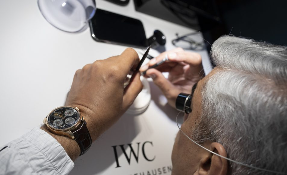 fine art of watchmaking with IWC Schaffhausen (1)