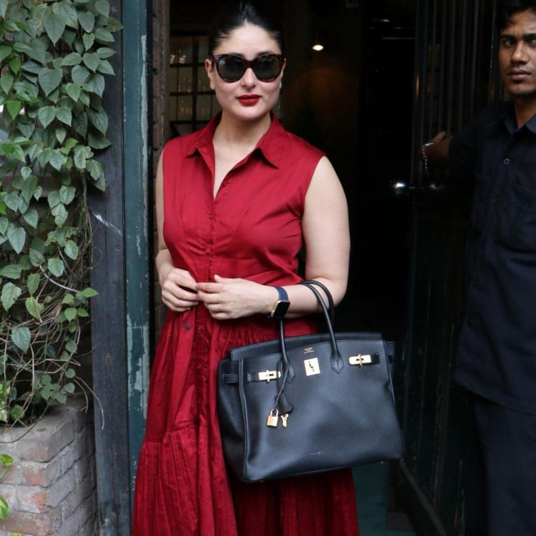 Kareena Kapoor Khan loses the limelight to her Rs.13 lakh Hermès Birkin Bag