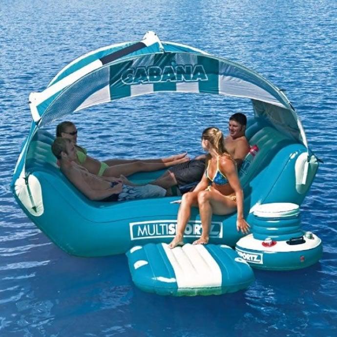 Cabana Islander Floating Island Paradise