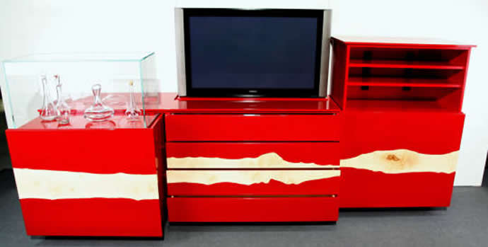 If Its Dusted With Diamonds Then It Couldnu0027t Escape Our Blog! Flatlift Has  Created A Suite Of Media Furniture That Includes 50 Carats Of U201cdiamond  Dustu201d ...