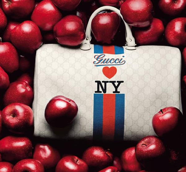397921bc4f Gucci Loves New York handbag to commemorate Gucci store at Trump building