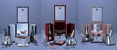 Limited edition Pinel & Pinel trunks for Krug Lovers