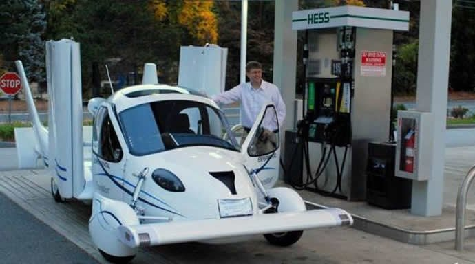 "The ""flying car"" Terrafugia Transition up for sale in 2011"