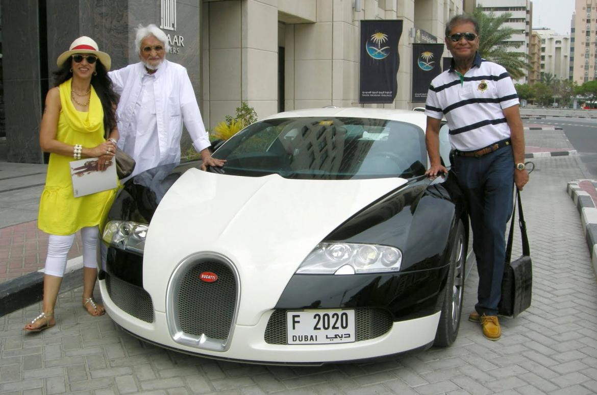 M F Husain India S Highest Paid Painter Buys A Bentley By Swiping