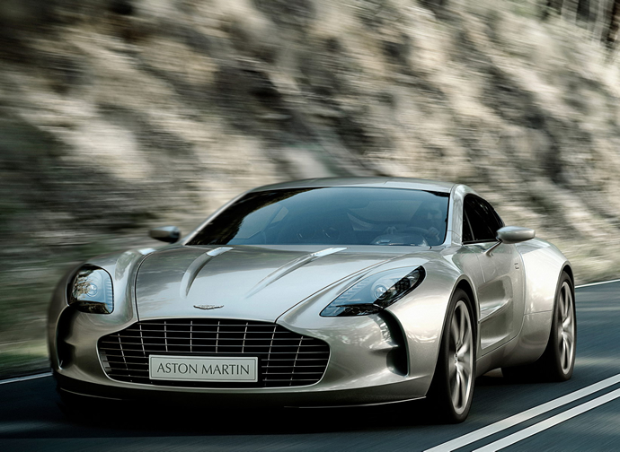 Unidentified rich man buys himself 10 Aston Martin One-77s