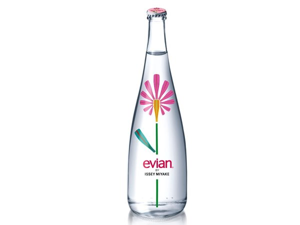 Evian Unveils The Issey Miyake Limited Edition Evian Bottle Luxurylaunches