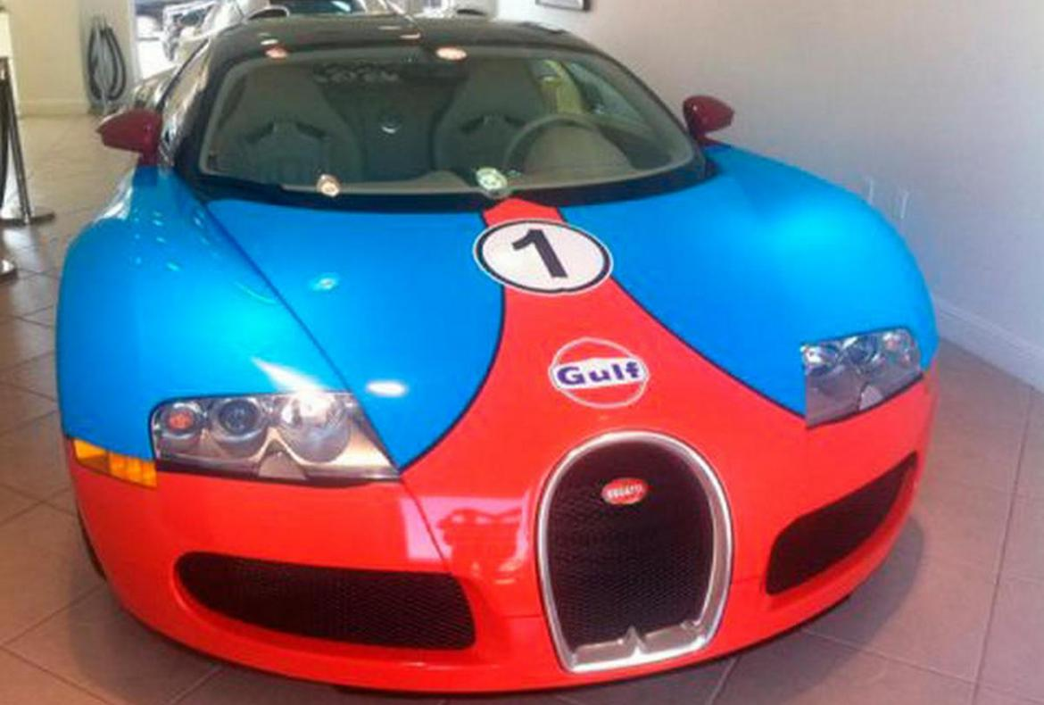 The Most Expensive Car In The World >> A customized Bugatti Veyron becomes the world's most expensive gulf-themed car