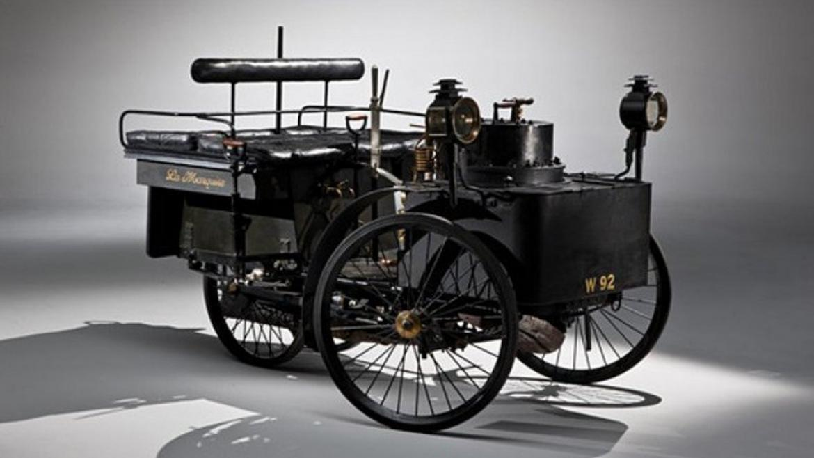 The oldest running car in the world to go under the hammer ...