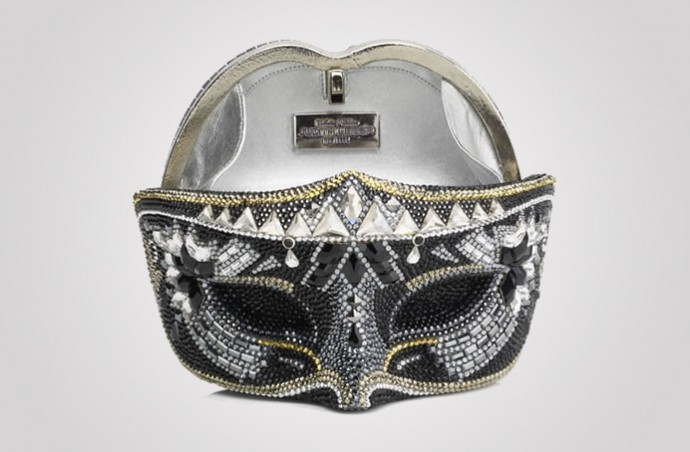 Crystal Mask Minaudière is a must-have accessory for a masquerade ball