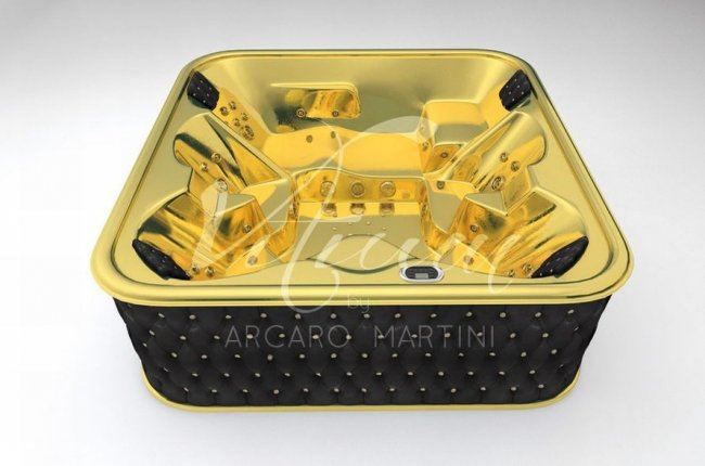 World's first 24 carat gold bathtub is available exclusively in UAE : Luxurylaunches