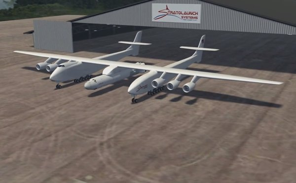 Paul Allen To Launch Worlds Largest Plane For Orbital Delivery