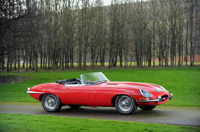Sir Elton John's 1965 Jaguar E-Type to go under the hammer