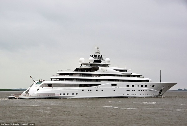 topaz is one of the largest and most expensive superyacht