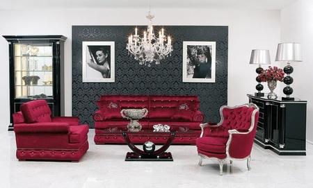 Swarovski crystal studded furniture collection by - Decoracion de muebles de salon ...