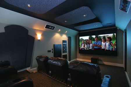 Soundproofed Room For Home Theatre